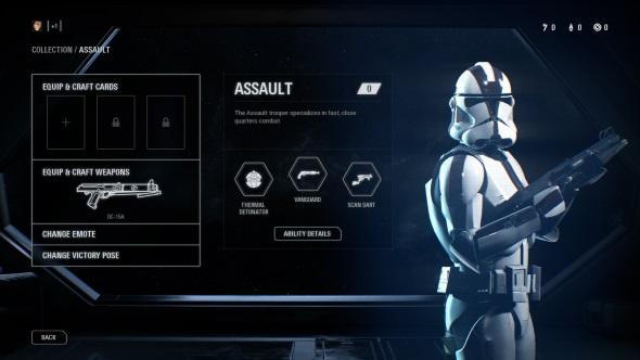 Star Wars Battlefront 2 classes Assault