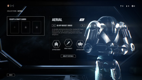 Star Wars Battlefront 2 classes Aerial B2-RP Rocket Droid
