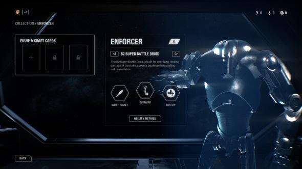 Star Wars Battlefront 2 classes Enforcer B2 Super Battle Droid
