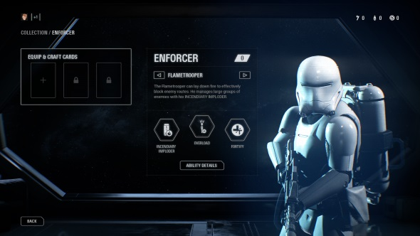 Star Wars Battlefront 2 Classes Enforcer Flametrooper