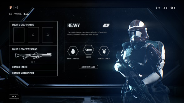 Star Wars Battlefront 2 classes Heavy