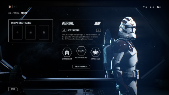 Star Wars Battlefront 2 Classes Aerial Jet Trooper