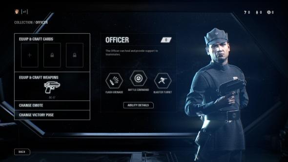 Star Wars Battlefront 2 classes Officer