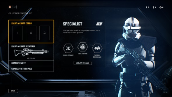 Star Wars Battlefront 2 Classes Specialist