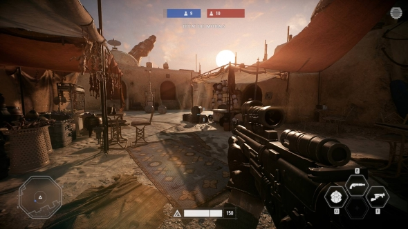 Star Wars Battlefront 2 PC graphics high