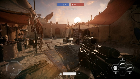 Star Wars Battlefront 2 PC graphics low