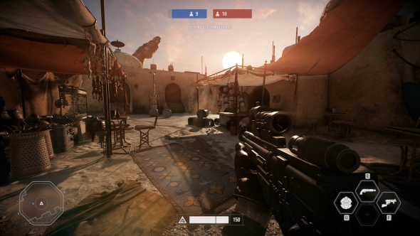 Star Wars Battlefront 2 PC graphics medium