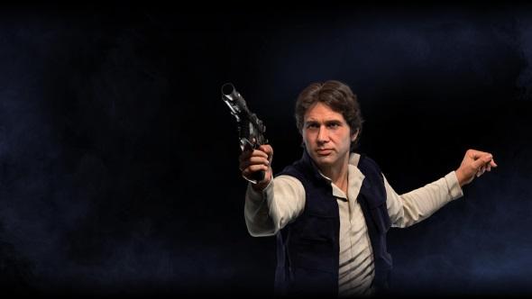 Star Wars Battlefront 2 heroes Han Solo