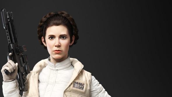 Star Wars Battlefront 2 heroes Leia Organa