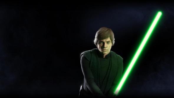 Star Wars Battlefront 2 heroes Luke Skywalker