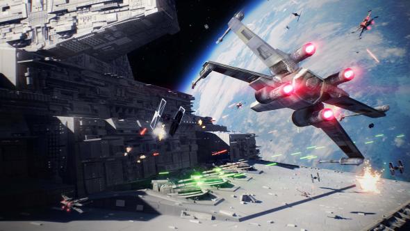 Star Wars Battlefront 2 space battles