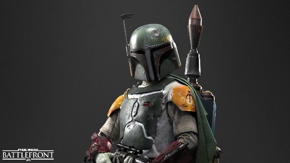 Star Wars Battlefront heroes Boba Fett