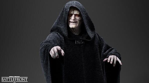 Star Wars Battlefront heroes Emperor