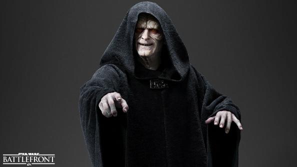 Star Wars Battlefront Emperor Palpatine