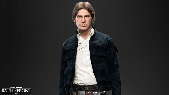 Star Wars Battlefront heroes Han Solo
