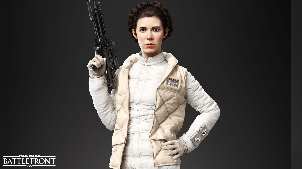 Star Wars Battlefront heroes Princess Leia