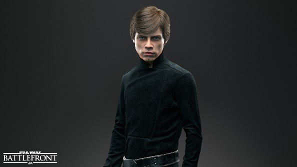 Star Wars Battlefront heroes Luke Skywalker
