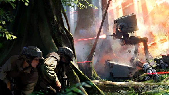 Star Wars Battlefront concept art and map details