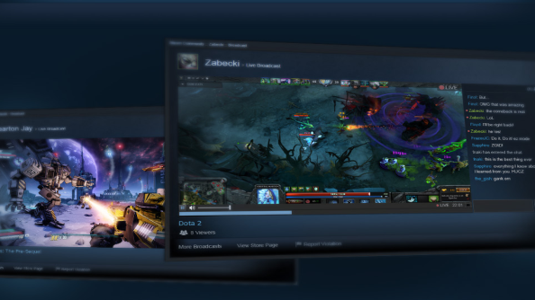 Lights, camera, action: Steam Broadcasting and FPS counter leaves beta