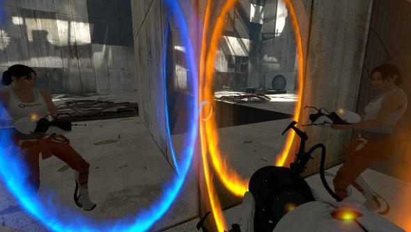 SteamVR Portal demo
