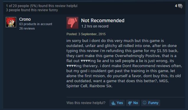 User reviews Deus Ex