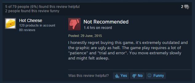 User reviews Thief II