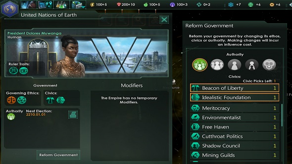 Stellaris Government