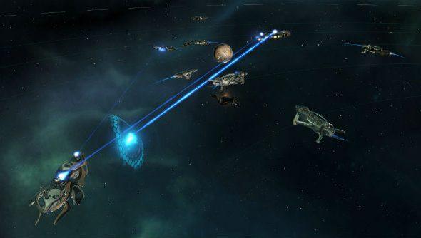 Stellaris combat fleet