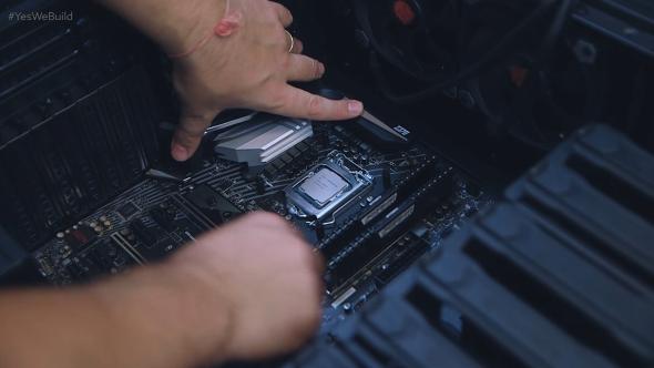 Step 3 - Mobo CPU RAM