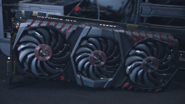 Step 7 - Graphics card