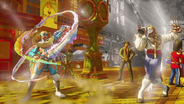 Street Fighter 5 SteamOS support