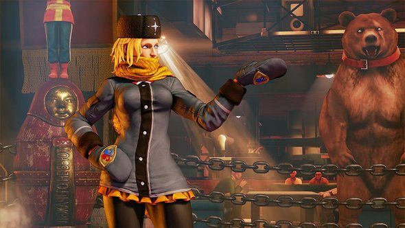 Street Fighter 5 V Kolin Move Set Announcement Trailer
