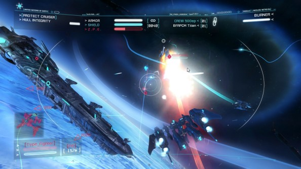 Strike Suit Zero Preview: Dogfighting with a difference