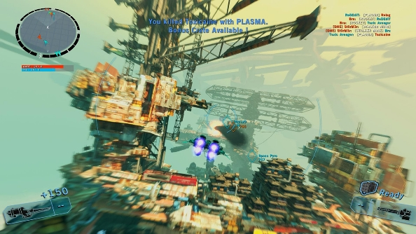 Strike Vector battle