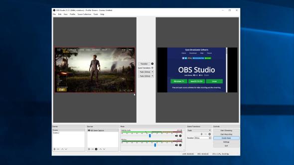 OBS Studio Mode