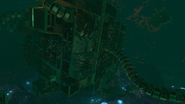 Alien structures rise from the deep in Subnautica's Precursor update