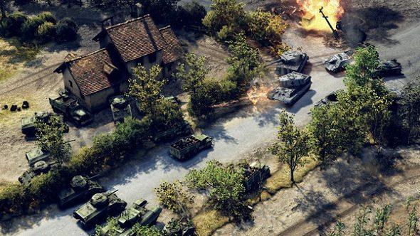 Sudden Strike 4 Tank Battle