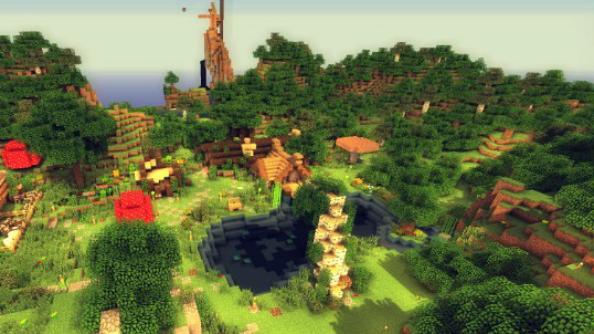 best minecraft shaders summer sunset