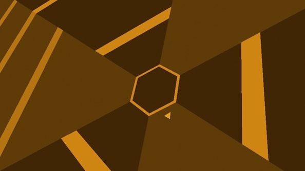 Super Hexagon out on PC: turn down the lights, drink a tea, and kiss your night goodbye