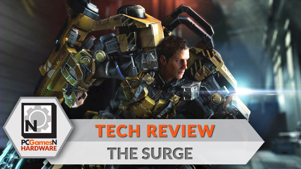 The Surge PC graphics, performance and 4K analysis - the PCGamesN tech review