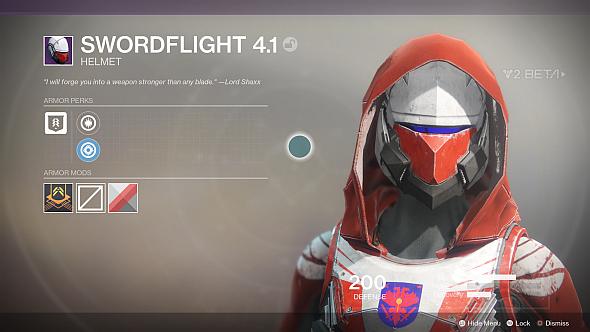 Swordflight 4.1 helmet