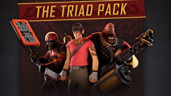 Team Fortress 2 teams up with Sleeping Dogs to bring you The Triad Pack