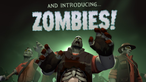 Team Fortress 2's annual Halloween event features zombies, spells, the Bombinomicon