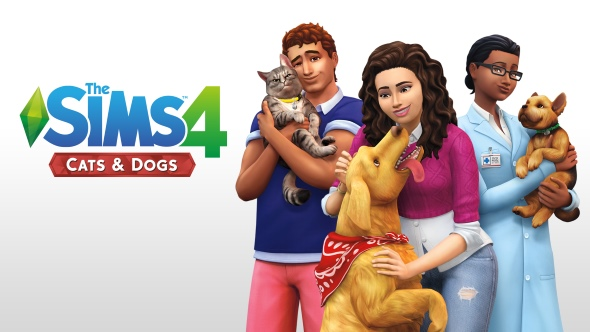 The Sims 4: Cats & Dogs' latest patch adds silly hats, and removes uncontrollable pet terror