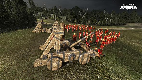 Total War: Arena catapult