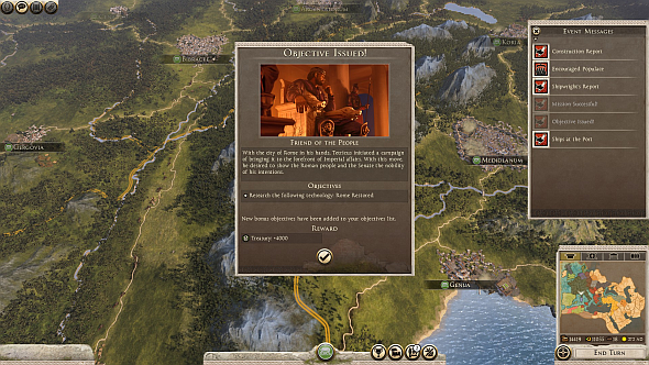 'Heroic' factions get unique event chains telling the history of their leaders