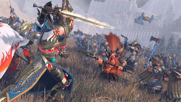 Mortal Empires lets you live out your wildest Total War: Warhammer fantasies