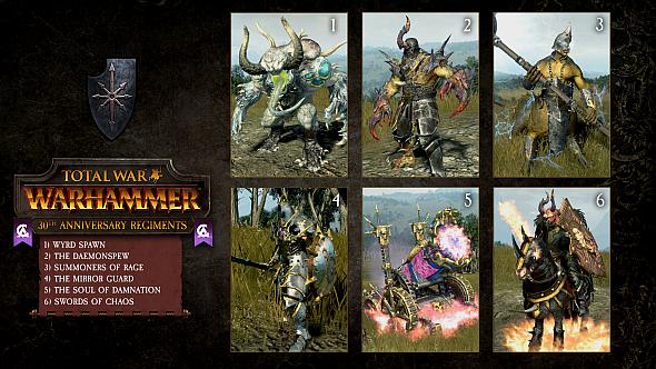 Get 30 elite Regiments of Renown for free in Total War