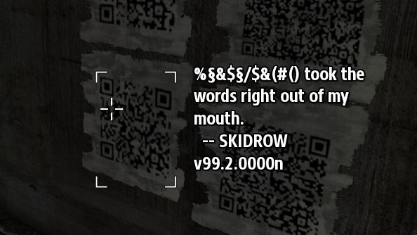 The Talos Principle Pirate Stuck Elevator QR Code