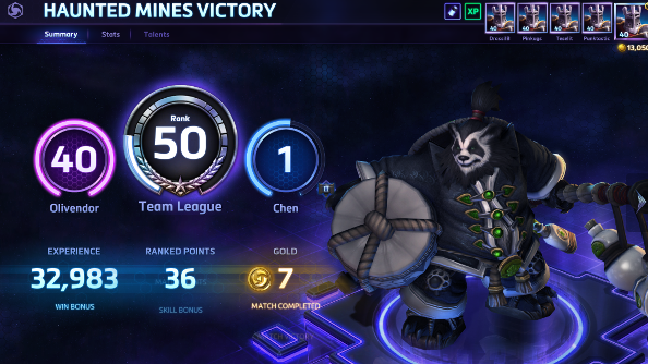 hero league heroes of the storm matchmaking